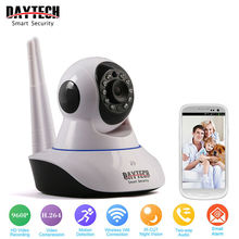 DAYTECH WiFi Camera IP 960P Home Security Camera Wi-Fi P2P Two Way Audio IR Night Vision Network Baby Monitor Wireless HD 960P(China)