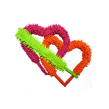 Magic Anti Static Cleaner Duster Chenille  sided curved dust Shan Curved flat folded dust Shan Car Auto Cleaning Dusting