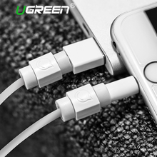 Ugreen Cable Protector for Original iPhone Cable Charger USB Cable Winder for iPhone 8 6 7 Mobile Phone Cable Holder 6pcs/Pack(China)