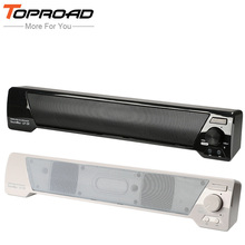 TOPROAD Wireless Altavoz Bluetooth Speaker 3D Soundbar HIFI Subwoofer Boombox Stereo Hands-free FM TF Speakers for Phones TV PC