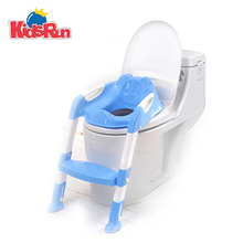 Baby Toddler Potty Toilet Trainer Safety Chair Step Adjustable Ladder Infant Toilet Folding Portable WC Toilet Urinal Seat