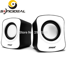 SONGIDEAL PC Speaker, 3.5mm USB Powered Stereo Computer Speaker for Desktop Laptop Notebook Tablet Smartphone MP3/4 Player White