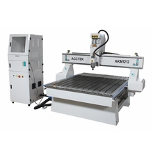 1212 3D Wall Panel cnc router desktop on metal with ball screw(China)
