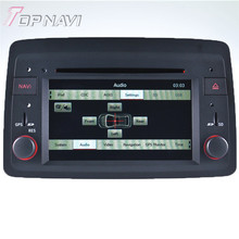 WANUSUAL Wince Car DVD Multimedia Player for Fiat Panda: 2004 onward Development Autoradio GPS Navigation Audio Stereo