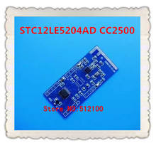 Free shipping  2pcs  STC12LE5204AD CC2500 active RFID tag programmable wireless module custom functions