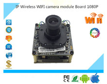 Luckertech IP Wireless WIFI camera module Board 1080P 1920*1080 Support 32G Mini SD Card Two-Way Audio IRC Alarm P2P Survillance(China)