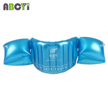 Child Inflatable Swim Vest Arm Float Ring Baby Boy Girl Swimming Circle Ring Infant Float Swim Trainer Swimming Pool Accessories(China)