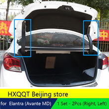 Trunk Hinge Braket Protect Cover Garnish For Hyundai Elantra 2011 2013 2014 2015 trunk support bar protective cover