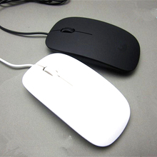 Hot Mini USB Wired Mouse Optical 1200 DPI  For Laptop Notebook PC Desktop Computer For Macbook Ultra Thin New 2016