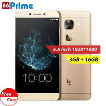 letv leeco le2 s3 X620 Mobile phone 3GB 16GB Android 6.0 phone 4G LTE Smartphone 5.5 inch FHD Helio x20 Deca Core 16MP Cellphone(China)