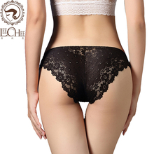 Buy Leechee n235 Elegant women Sexy lingerie erotic underwear Temptation Pants Low Waist Hip Breast lenceria sexy porn costumes