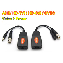 Wholesales 50 pairs/Lot 1CH Passive HD UTP Power Video Balun AHD+TVI+CVI+ CVBS +Power Transceiver(China)