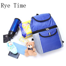new arrivals double layer thermal picnic cooler bag insulated cool shoulder bags ice pack thermo food storage(China)