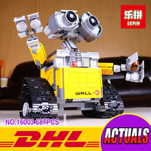 Lepin 16003 Idea Robot WALL-E Building Blocks WALL E 687pcs Building Bricks Toys for Children Birthday Gifts With Manual