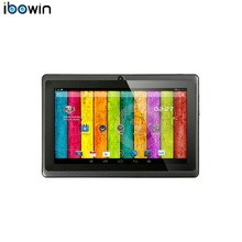 ibowin Discount!! 7Inch Tablet PC Allwinner A33 Quad-core 8G Memory Google Play Store Bluetooth WIFI Android 4.4 PC Computor