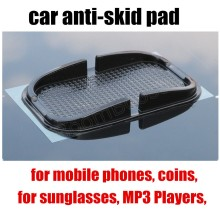 car styling popular car non-slip mat skid pad black Car Non-Slip Mat Skid Proof Sticky Phone Pad Anti-Slip Dashboard Holder(China)