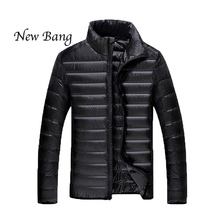 2016 New Duck Down Jacket Men Winter Parkas Men's Feather Ultralight Down Jackets Outwear Plus Size 5XL 6XL With Carry Bag