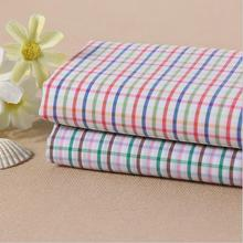 Manufacturers selling cotton yarn-dyed stretch grid shirt fabric series fabric wholesale(China)