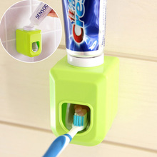 Creative automatic toothpaste dispenser for toothpaste toothbrush holder bathroom tube squeezer home gadgets