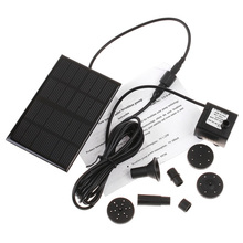 6V 1.2W Pump Brushless Motor Solar Water Long Using Time Aquarium Rockery Fountain Garden solar-powered pumps Submersible - Easy Life 365 store
