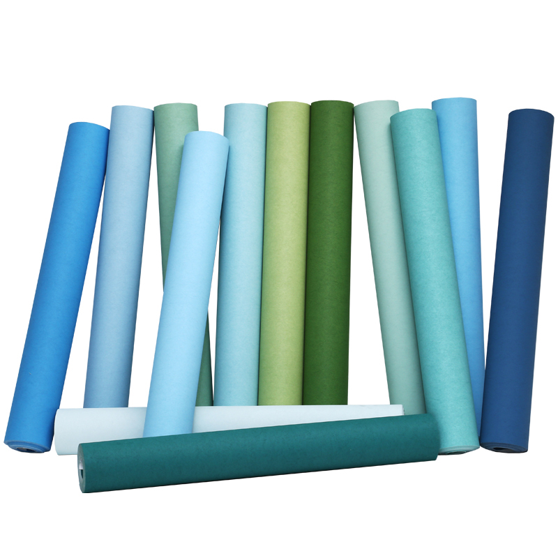 Modern Style Living Room Wallpaper Green Blue Solid Color Wallpaper For Walls 3 D Papel De Parede Home Decor White Wallpaper<br>