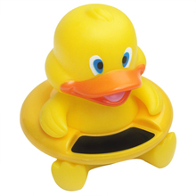 NEW Duck Floating Toy Safety of Baby Bath and Water Temperature Sensor Thermometer Tool