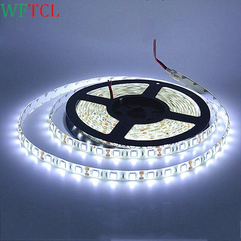 wholesale led light strips rgb waterproof led lights 12 volt strip led lights 3 chips