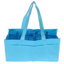 Travel Outdoor Portable Baby Diaper Nappy Storage Insert Organizer Bag Tote,Blue