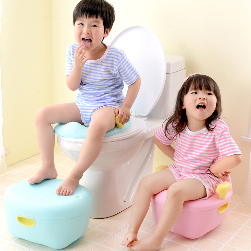 Small Colorful Baby Potty Children Multifunctional Toilet Baby Infant Toilet Bowl XL