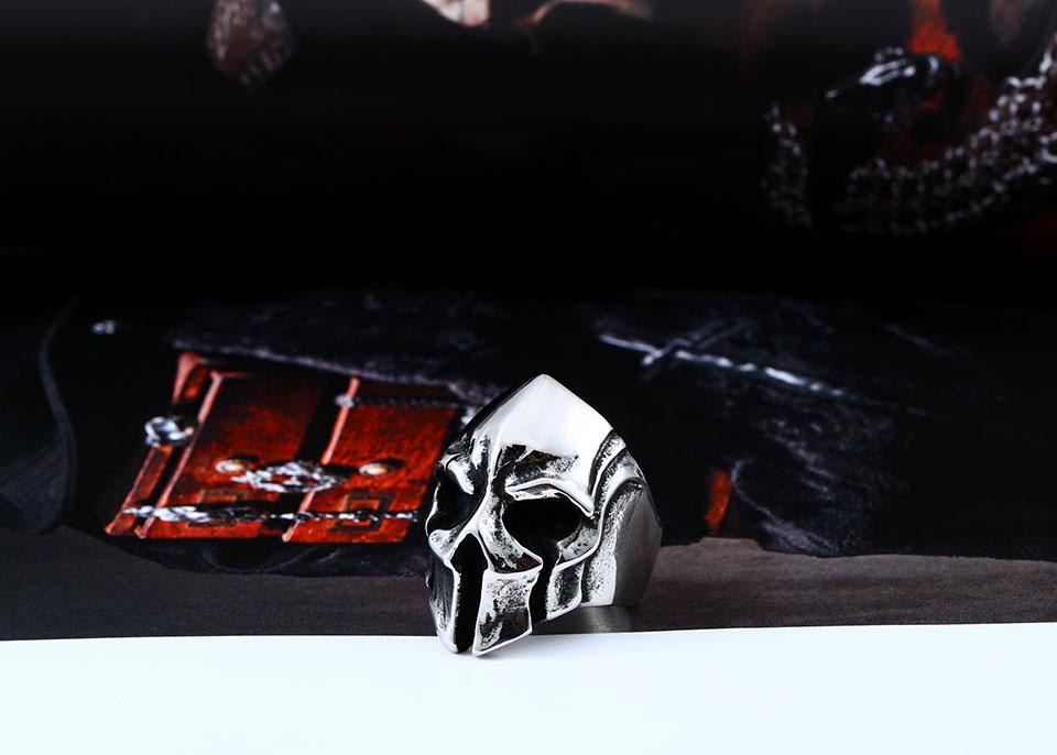 แหวนโคตรเท่ห์ Code 022 แหวน Spartan Warriors สแตนเลส3