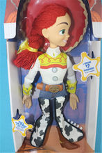 "NEW Toy Story Plush Toy 15"" Cowgirl Jessie Talking Stuffed Doll Figure Kids Gift"