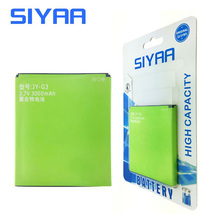 SIYAA Original Mobile Phone Battery For JIAYU G3 JY-G3 G3S G3C G3T 3000mAh Replacement Li-ion Batteries Free Shipping(China)