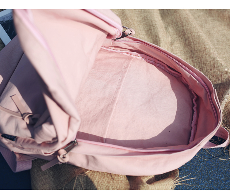 Menghuo High Quality Women Canvas Backpack Teenage Girls Leisure Backpack Bag Vintage Stylish Female School Bag Bookbag Mochilas (26)