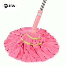 Self-twisting Water Mop Home Mop  cloth No Hand Washing Lazy Squeeze Water Wring Dry Mop Cloth Cotton Thread Cotton Yarn