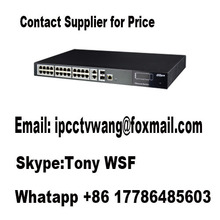 Dahua  24-Port Ethernet Switch (Managed) PFS4228-24T  Contact Supplier for Price