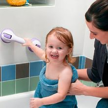 New Bathroom armrest Helping Handle Sucker Safer Grip Handrail Bath Accessories Toddlers Older People Keeping Balance(China)