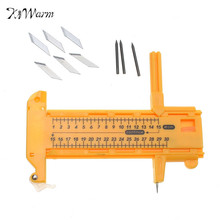 Convenient Stylish Silverline For Compass Circle Arch Cutter Knife Includes 6 Spare Blades Office Home Sewing DIY Tools