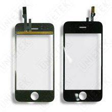 JEDX Original Quality Touch Panel Glass for iPhone 3GS 3G Front Touch Screen Digitizer with Flex Cable Spare Parts