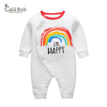 CalaBob 2018 Spring Autumn Baby Romper Long Sleeve Newborn Baby Clothes 100% Cotton Baby Girl Clothing Cartoon Infant Jumpsuit