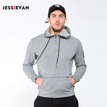 JESSIE VAN 2017 Men Mark Hoodies Pullover basketballer jersey Armband Autumn Winter Thin off white Fabric Asian Size gifts(China)