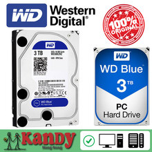 Western Digital WD Blue 3TB hdd sata 3.5 disco duro interno internal hard disk harddisk hard drive disque dur desktop hdd 3,5 PC