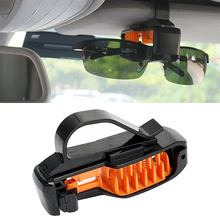 ABS Car Sun Visor Sunglasses Holder Auto Fastener Clip Eyeglasses Clip Portable Car Glasses Cases Car-styling(China)