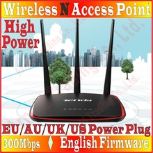 3 Antenna Wireless 802.11N Repeater Signal Booster 300Mbps AP Access Point Bridge WiFi Range Router Extender Repeater High Power