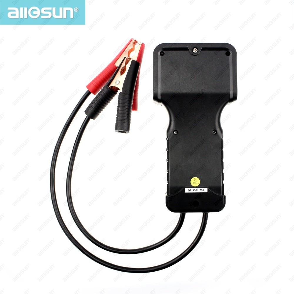 Блендеры,Миксеры All-Sun EM577 CCA Тестер автомобильных аккумуляторных батарей для проверки всех свинцово-кислотных типов с номинальным напряжением 12 В (Фото 6)