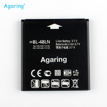 Agaring Replacement Battery BL-48LN For LG SU870 Optimus 3D Cube Max P725 P720 BL48LN Authentic Phone Batteries 1520mAh