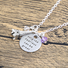 12pcs/lot Ratatouille Inspired Necklace Remy the rat in Paris Quote Only the Fearless can be Great crystal(China)