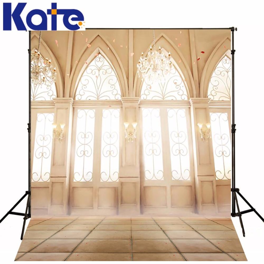 Kate 5*7ft Photo Photography Wall Light Chandelier Door photos porta foto brick floor fotografia backgrounds for photo studio<br>