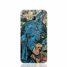 16848 Retro Vintage Batman Comic Book cell phone case cover for Samsung Galaxy J1 ACE J5 2016 J7 N9150
