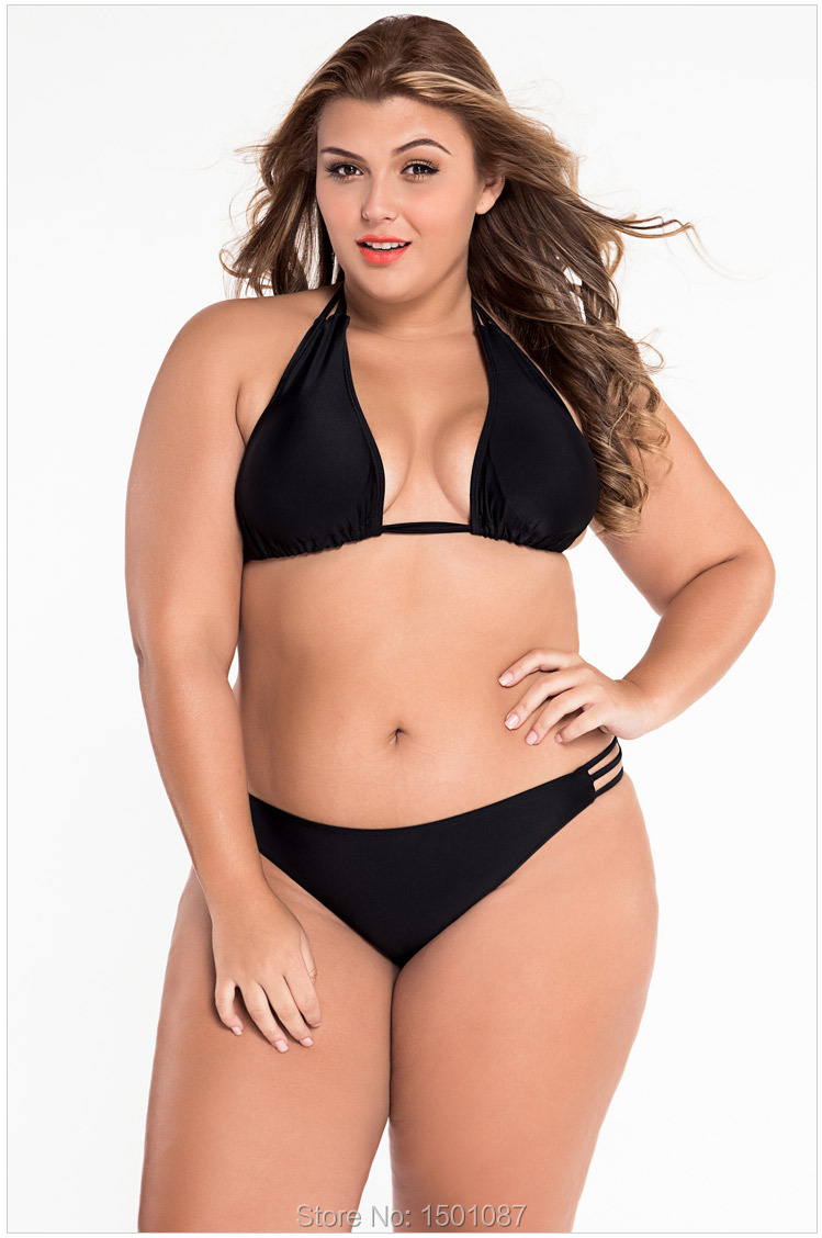 New Women Sexy Bikinis Set Two-pieces Plus Size Swimwear Push Up Swimsuit Female Bodysuit Leotard Brazilian Biquini Beachwear<br><br>Aliexpress