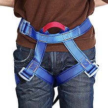 2016 Sportman Harness Seat Sitting Bust Belts For Outdoor Rock Climbing Rappelling Equipment Blue Camping Edc Survival Carabiner
